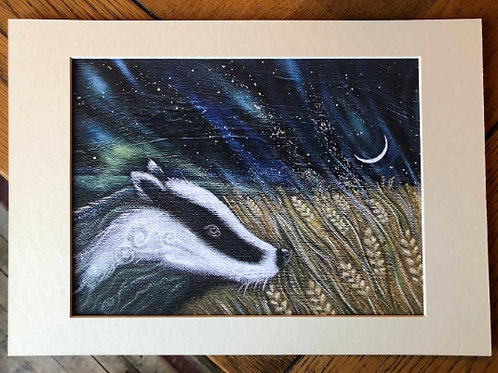 Midnight Visitor - Signed Limited Edition Print of 150