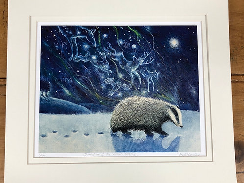 Guardian of the Winter Solstice - Signed Limited Edition Print of 100
