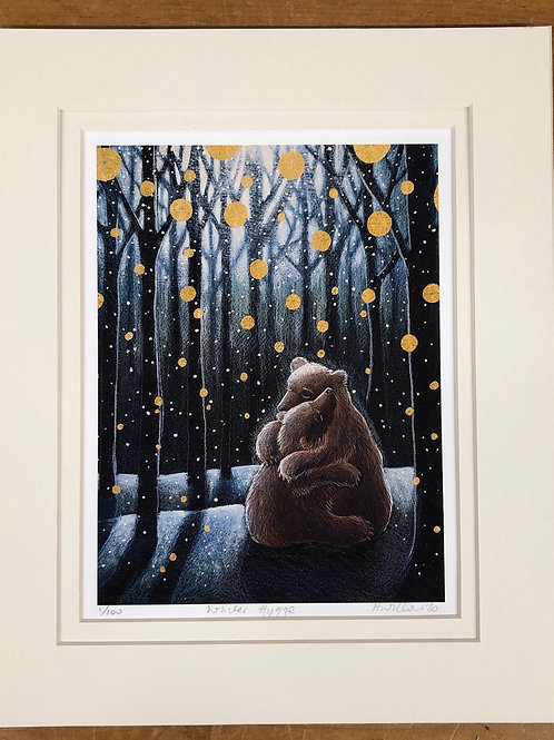 Winter Hygge - Signed Limited Edition Print of 100