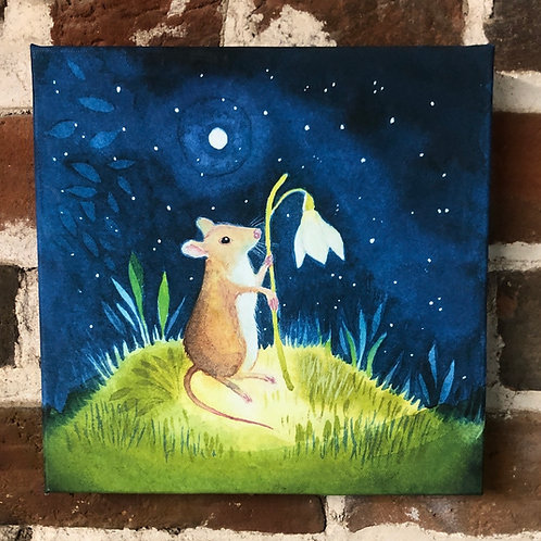 Wilfred Mouse - Canvas boxed print