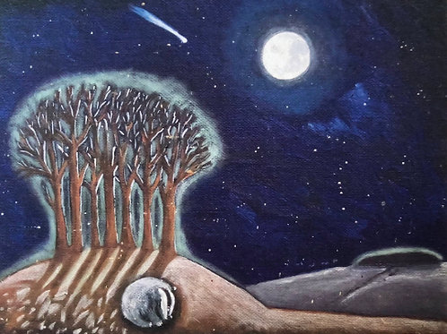 Badger's Moon - Signed Limited Edition Print of 100