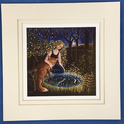 The Moon Pool, Giclee limited edition print of 100