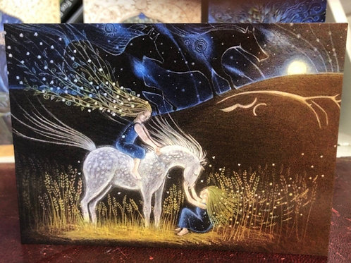 Mother of all Herds Greetings Card