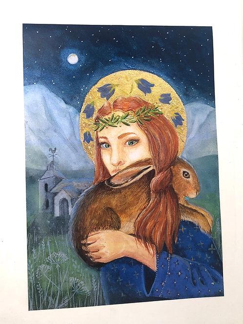 Poster of St Melangell 2