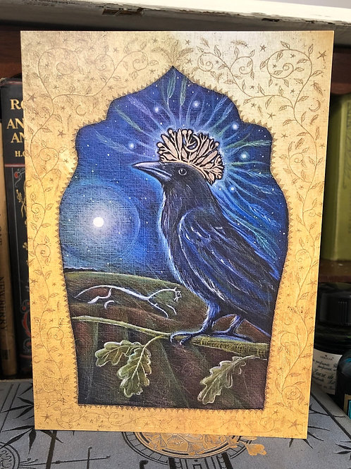 Queen of the Night Greetings card
