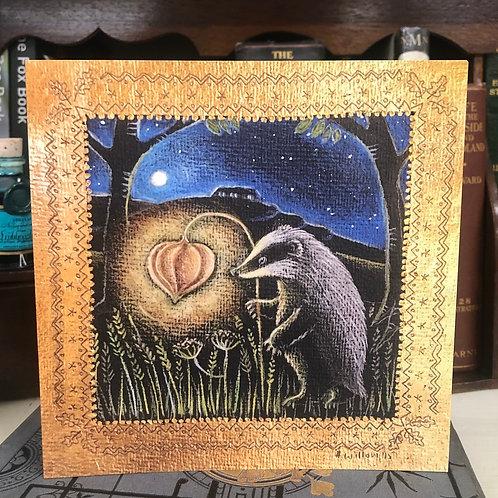 The Magic Lantern Greetings card