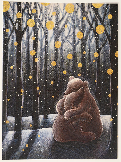 The Winter Hygge Pack of 5 greetings cards