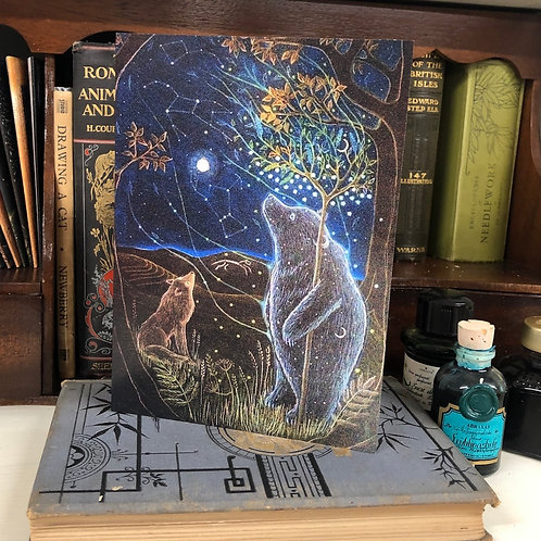 The Great Bear II Greetings card