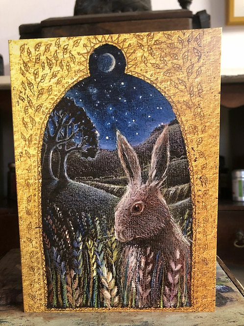 Hare's Tale Greetings Card