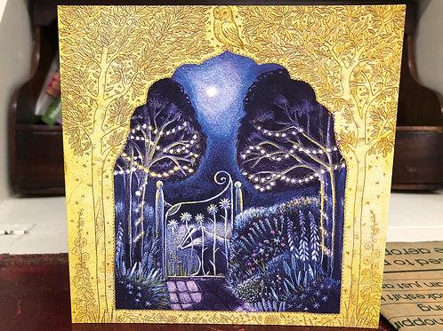 Midsummer Garden greetings card