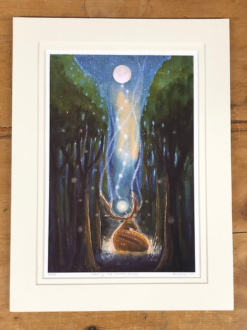 Lord of the Forest - Signed Limited Edition Print of 100