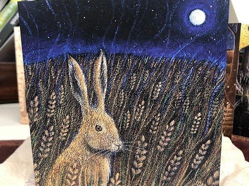 Harvest Moon Greetings card