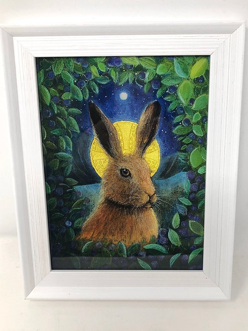Framed picture of The In the Valley of the Hare
