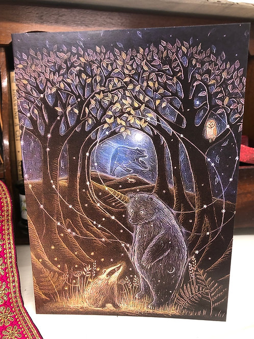 And he was made of Stars Greetings Card