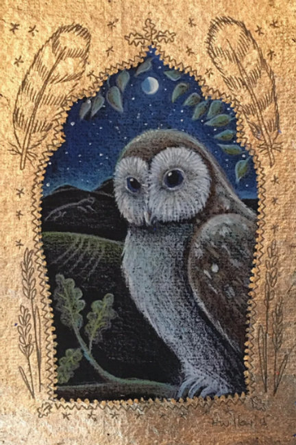 Owl in the Oak - Open Edition Print