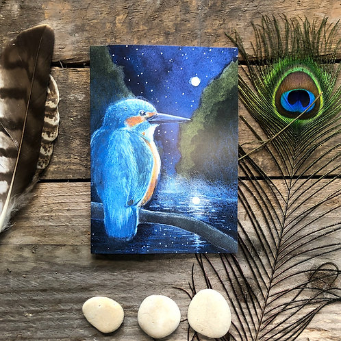 The Hour before dawn greetings card
