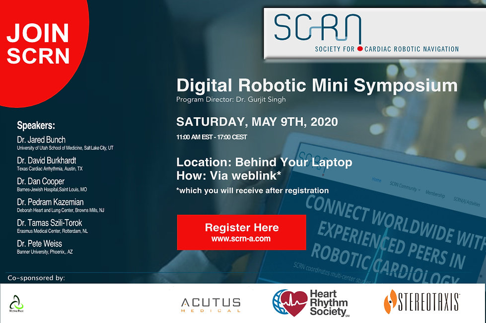 Site Virtual Robotic Mini Symposium 2020