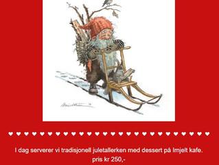Juletallerken i dag, søndag 2. Desember