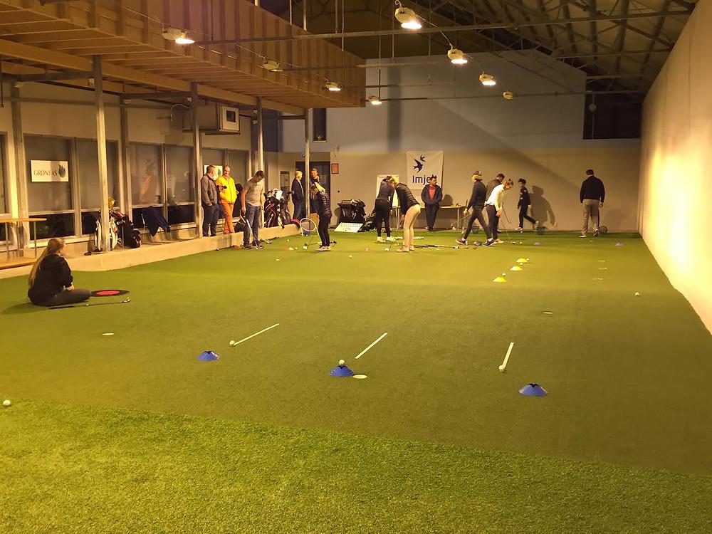 Imjelt Golfsenter treningshall