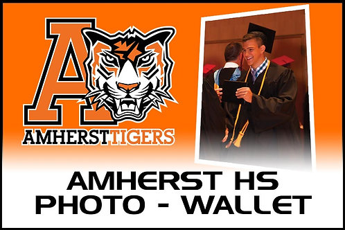 Photo - (4) Wallet Prints - Amherst High School