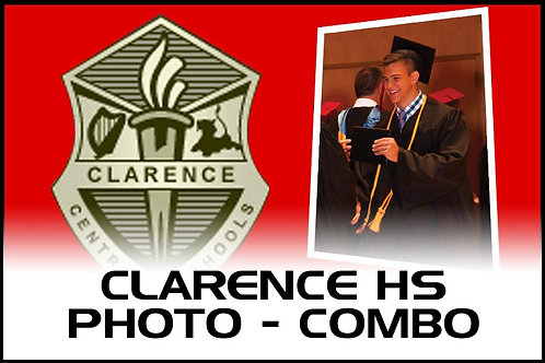 Photo COMBO - Digital + 8 x 10 - Clarence High