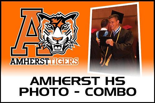Photo COMBO - Digital + 8 x 10 - Amherst HS