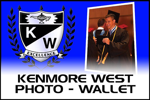 Photo - (4) Wallet Prints - Kenmore West High