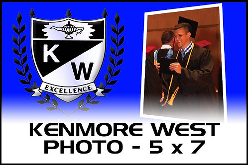 Photo - 5 x 7 Print - Kenmore West High School