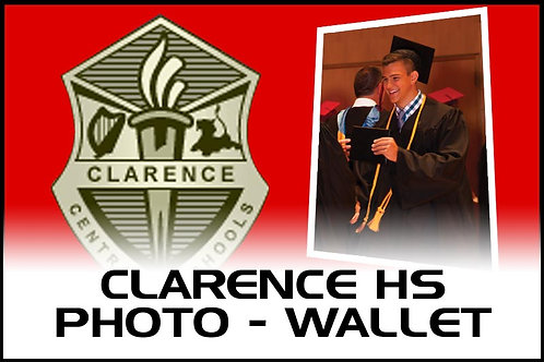 Photo - (4) Wallet Prints - Clarence High School