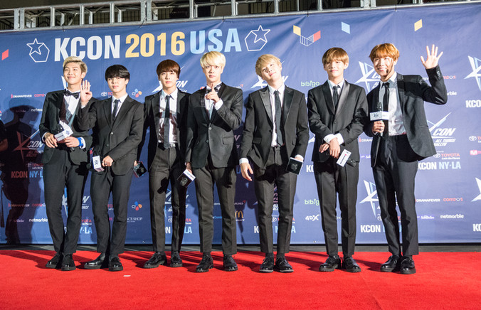 BTS at KCon NY