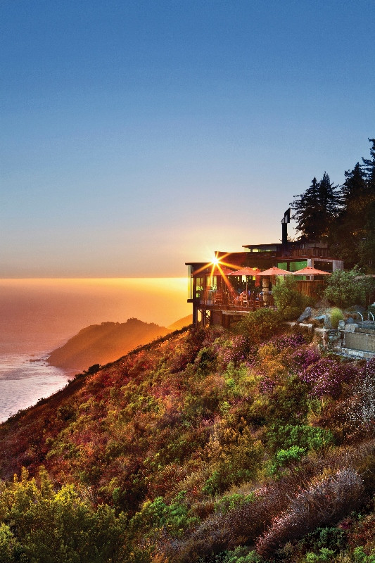 Post Ranch Inn Overlooking the Pacific Ocean