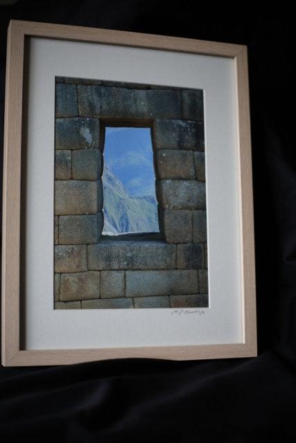 Window Vista, Machu Picchu, Peru. ©MDHarding