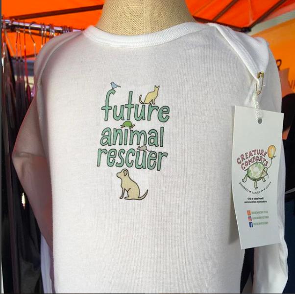 Future Animal Rescuer Baby Onesie