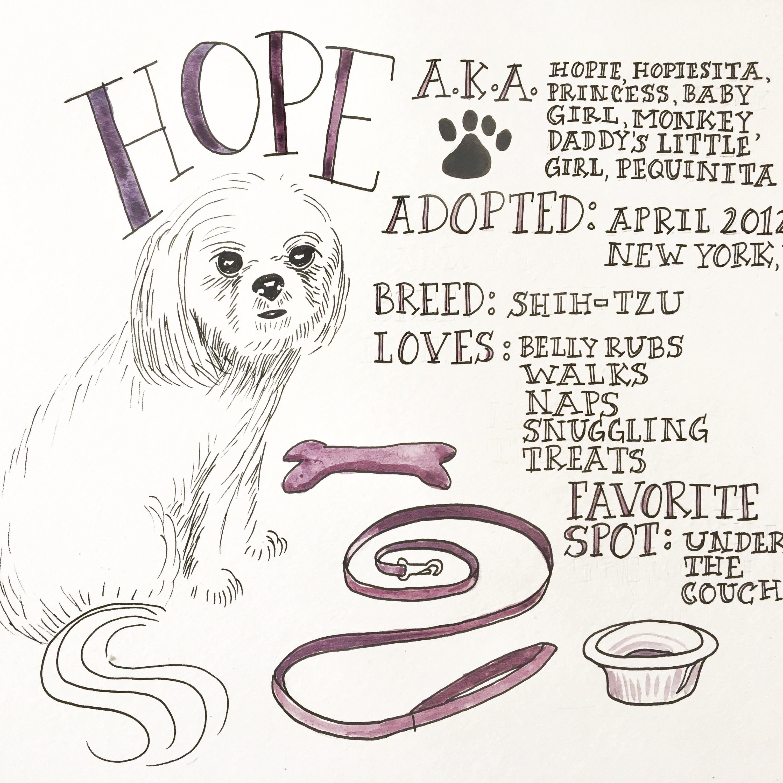 Hope Pet Biography