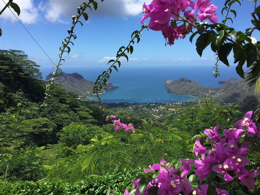 Breath Taking Views From Hiva Oa, Tahiti