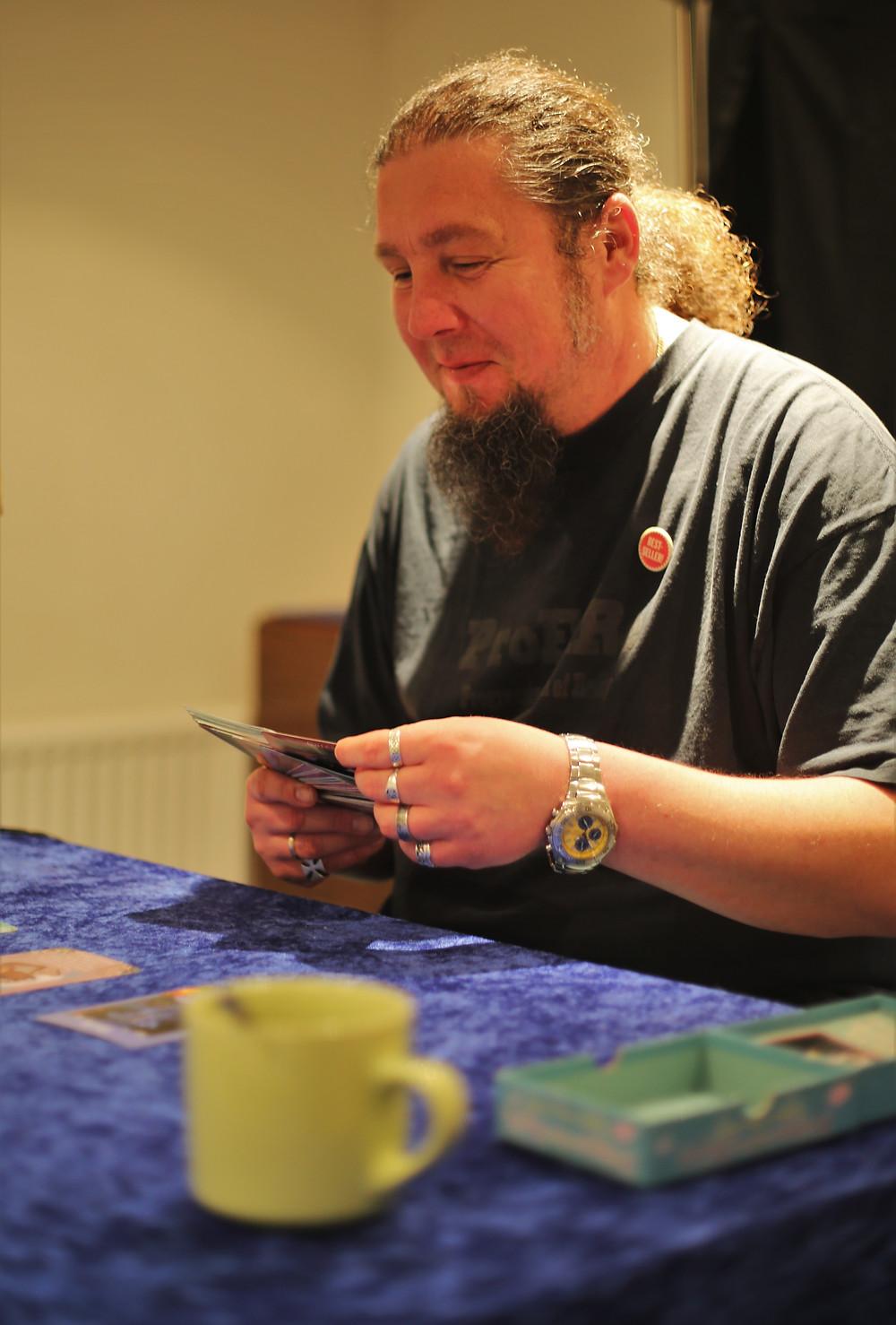 Tea & Tarot session at Shining Light, Edinburgh