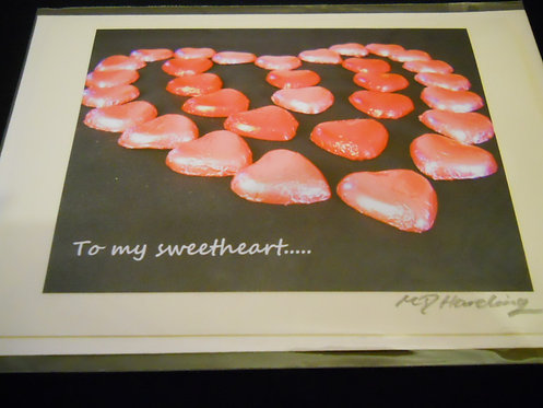 To my Sweetheart...