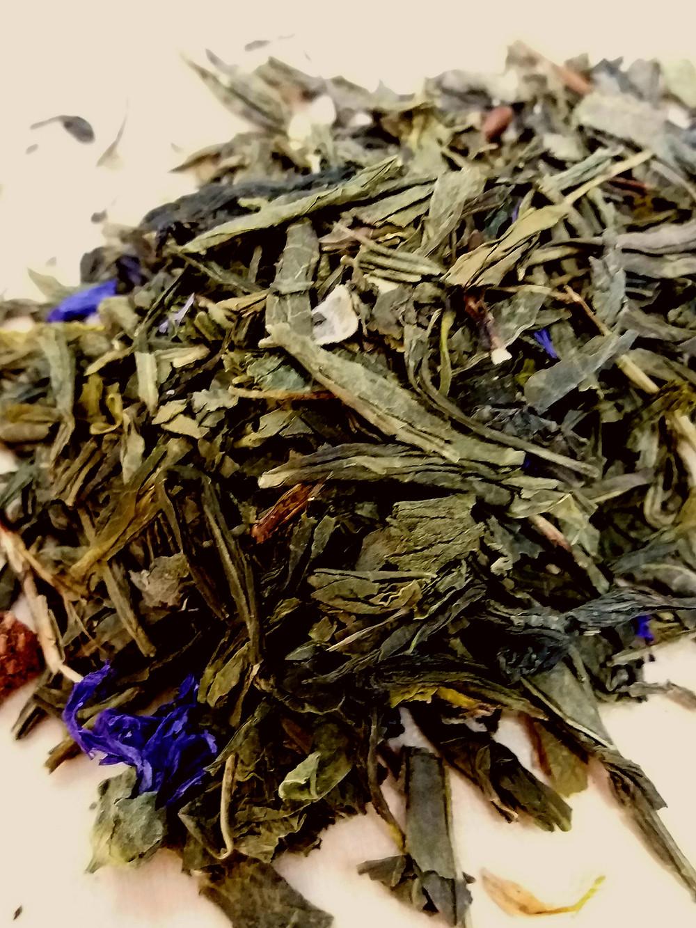 Tea leaf in it's natural form.