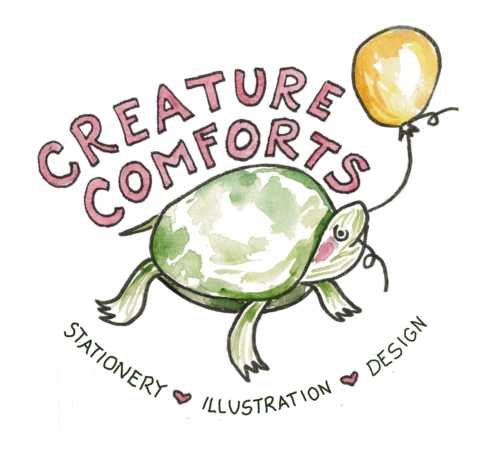 Creature Comforts Stationery and Designs