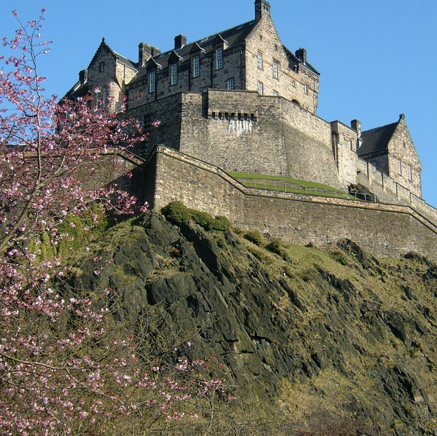 Edinburgh Castle In Spring©MDHarding (99