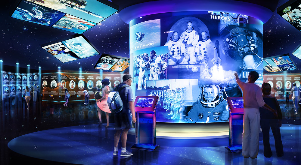 Heroes and Legends featuring the U.S. Astronaut Hall of Fame®