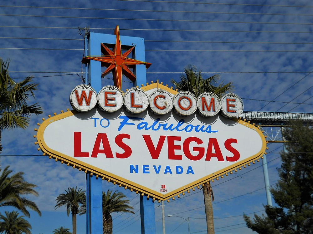 Welcome To Las Vegas, Nevada Sign