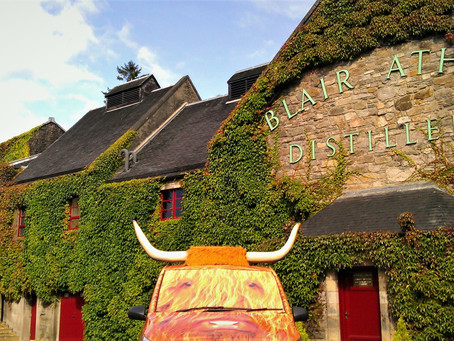 The Tipple Of Scotland, Whisky - A Wee Highland Coo Van Adventure
