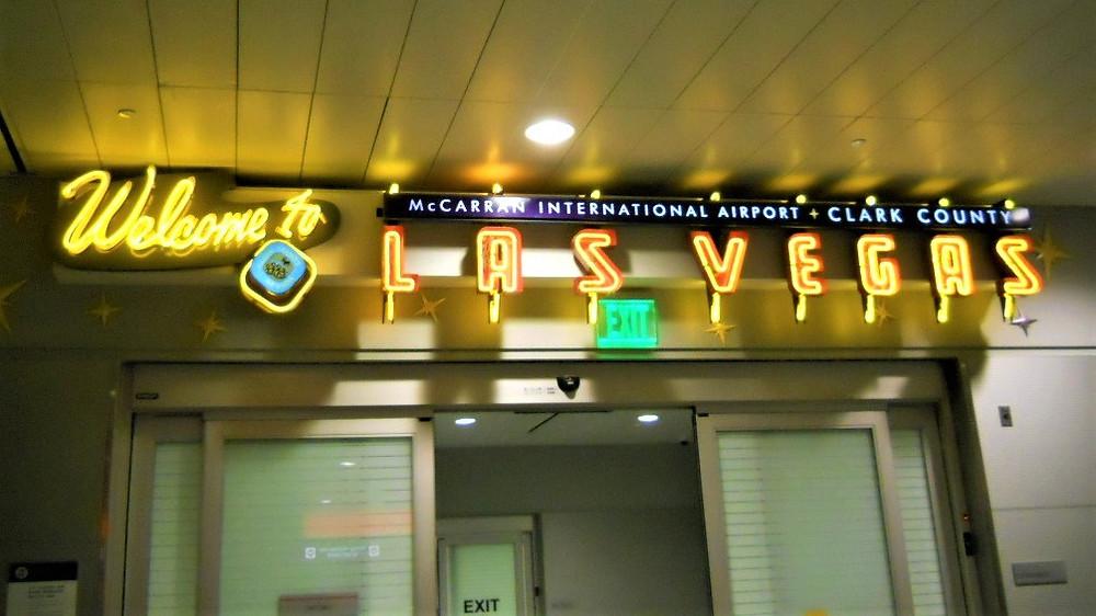 Welcome to Las Vegas Sign at McCarran International Airport