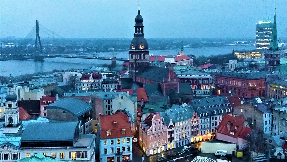 Views of Riga From St Peter's Church