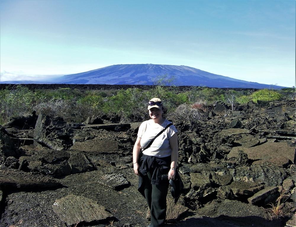 Walking Through The Treacherous Lava, Isla Fernandina, Galapagos Islands