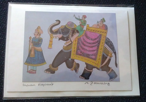 Indian Elephant A6 Gift Card