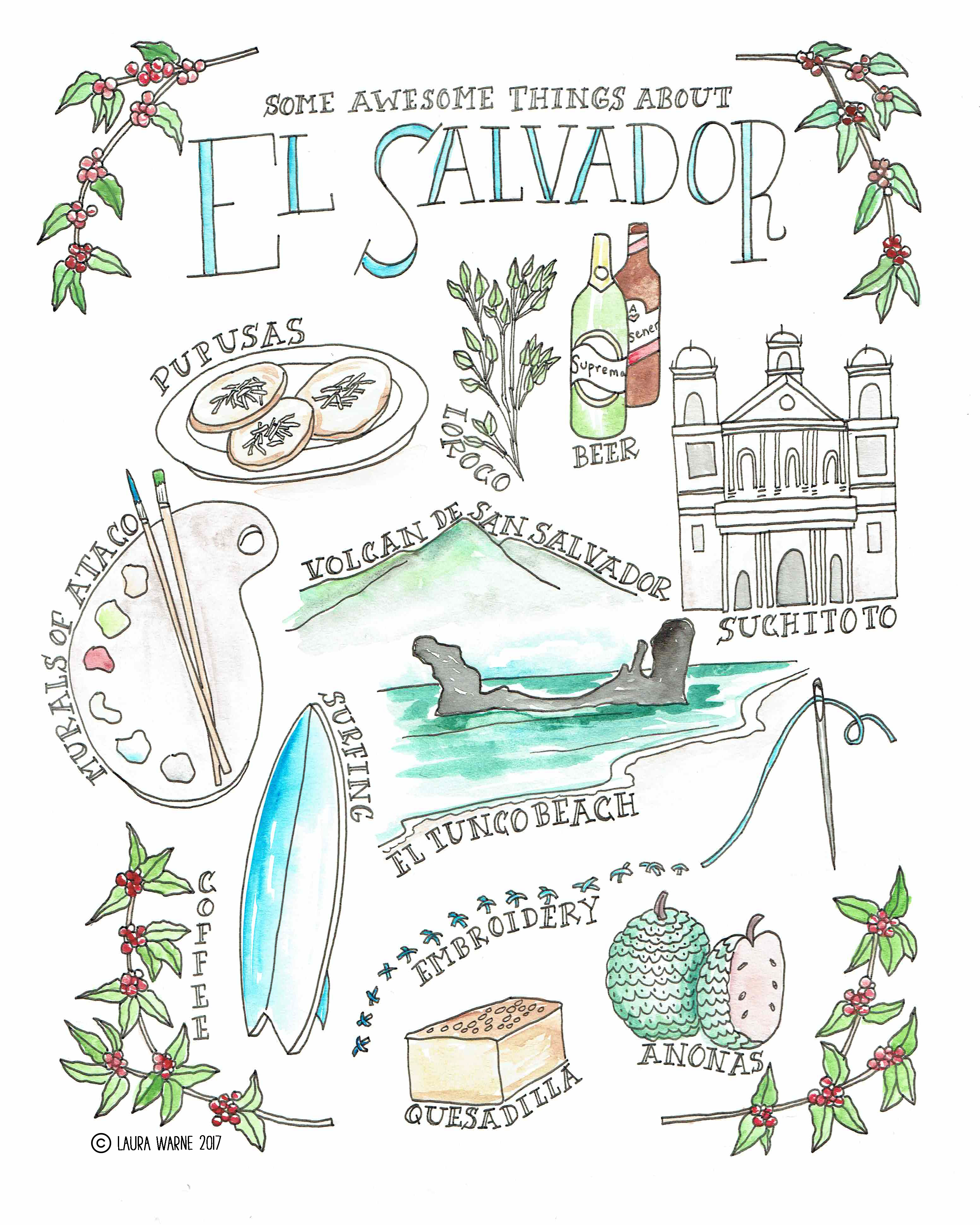 Awesome Things About El Salvador