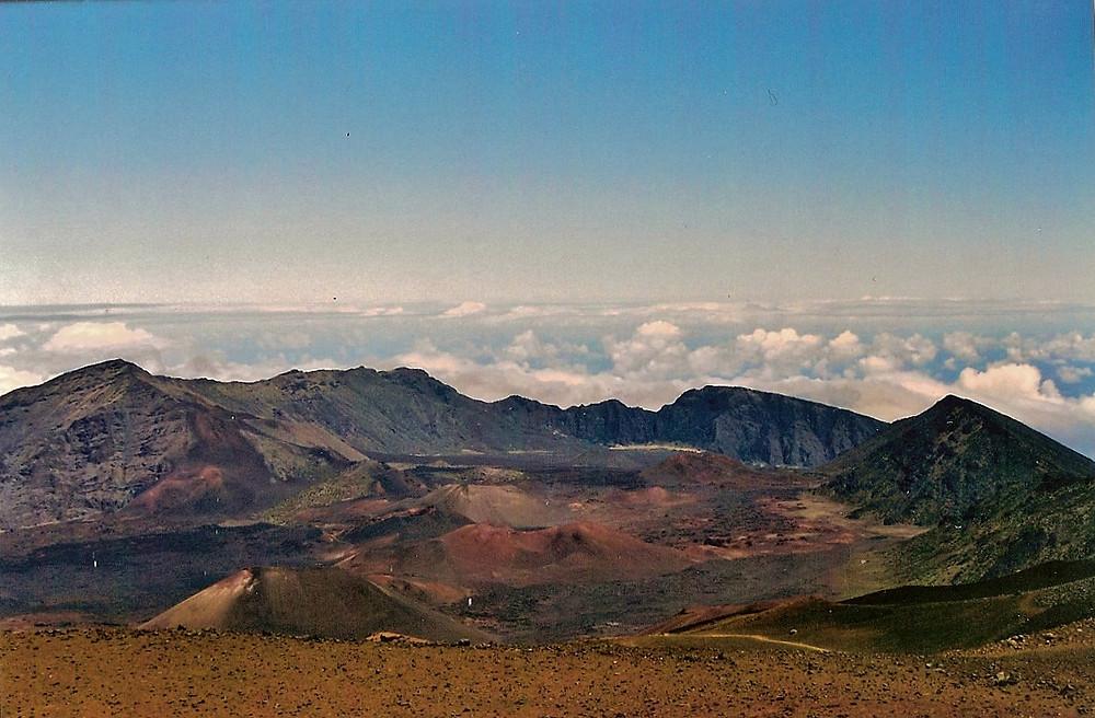 Haleakala Volcanic Crater, Maui, Hawaii