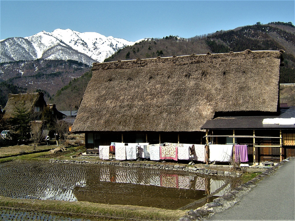 Japanese Thatched Roof Village - Shirakawa-go